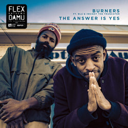 Damu The Fudgemunk & Flex Mathews - Burners (EP) Redefinition Records