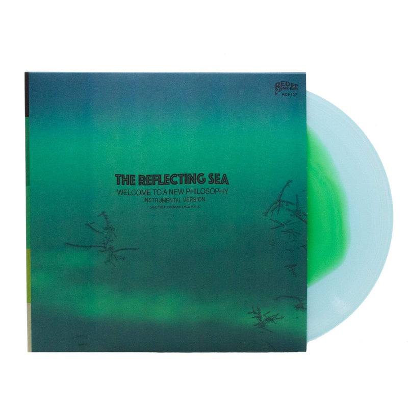 Damu The Fudgemunk - Instrumentals from The Reflecting Sea (LP - Blue/Green Vinyl) Redefinition Records