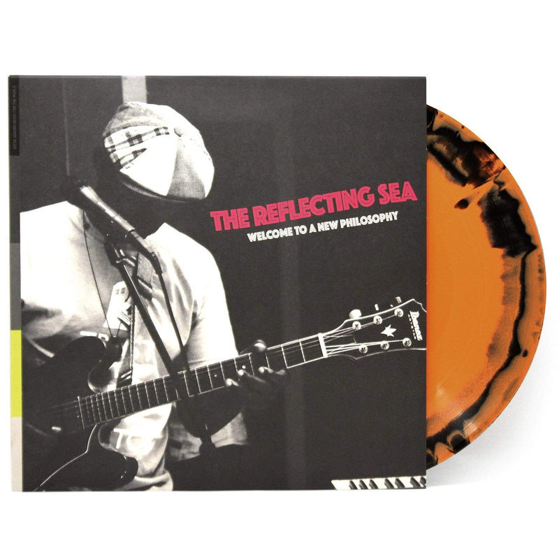 Damu The Fudgemunk & Raw Poetic - The Reflecting Sea (Welcome to a New Philosophy) (LP - Orange & Black Vinyl) Redefinition Records