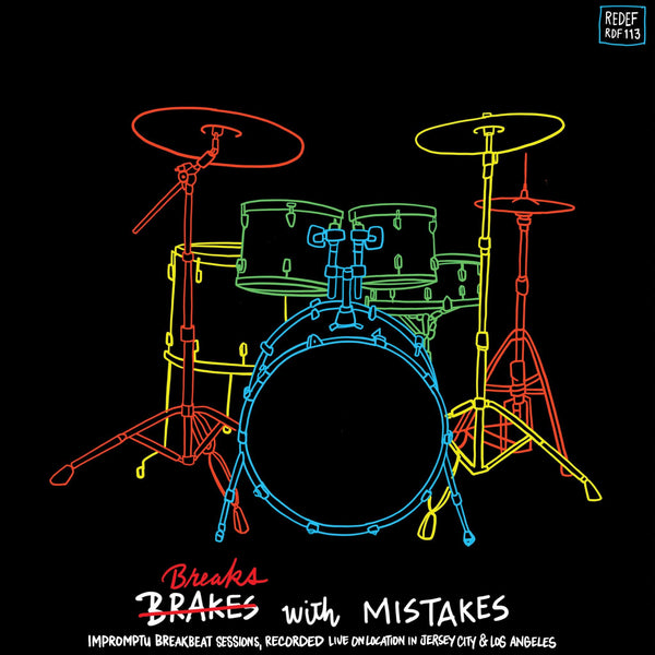 Earl Davis (Damu The Fudgemunk) - Breaks With Mistakes (LP) Redefinition Records