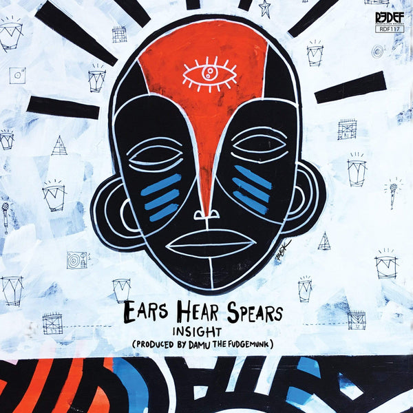 Insight & Damu The Fudgemunk - Ears Hear Spears (Cassette) Redefinition Records