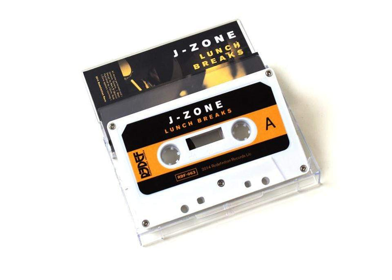 J-Zone - Lunch Breaks (Cassette) Redefinition Records