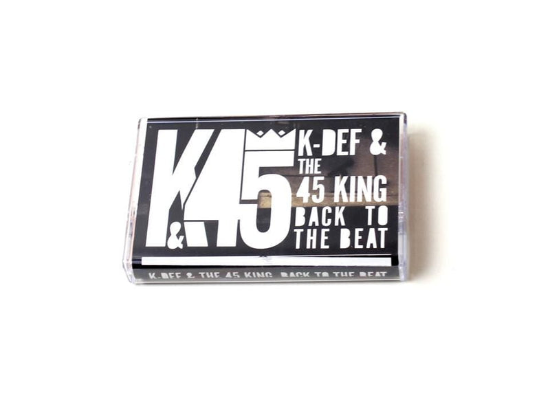 K-Def & 45 King - Back To The Beat (Cassette) Default Redefinition Records