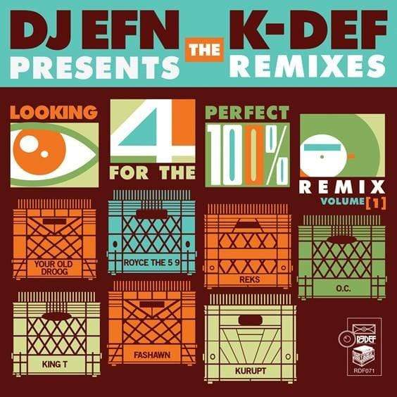 "K-Def & DJ EFN - Looking For The Perfect Remix Vol. 1 (7"") Redefinition Records"