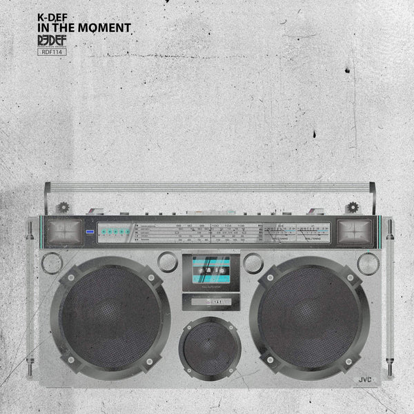 K-Def - In The Moment (LP - Electric Blue Vinyl) Redefinition Records