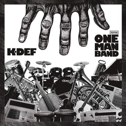 K-Def - One Man Band (CD) Redefinition Records