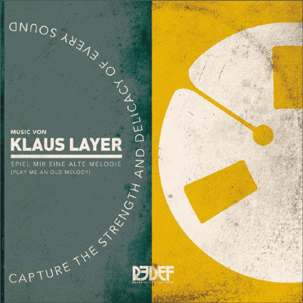 "Klaus Layer - Play Me An Old Melody (Spiel Mir Eine Alte Melodie) (7"") Redefinition Records"