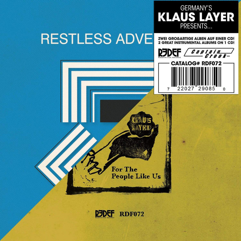 Klaus Layer - Restless Adventures + For The People Like Us (CD) Redefinition Records