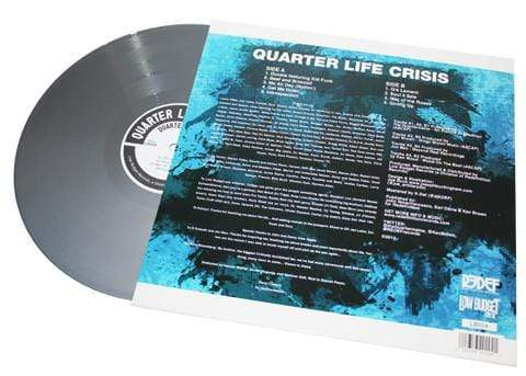 Quartermaine - Quarter Life Crisis (Silver Vinyl) (LP) Redefinition Records