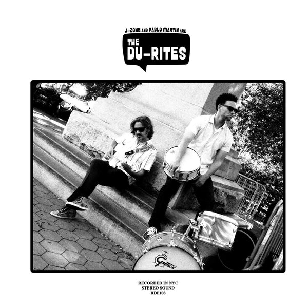 The Du-Rites - J-Zone & Pablo Martin are The Du-Rites (LP - Orange Vinyl) Redefinition Records