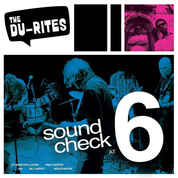 The Du-Rites - Sound Check at 6 (Recorded LIVE!) (LP) Redefinition Records