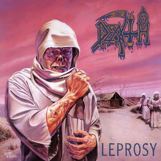 Death - Leprosy (LP - Limited Pinwheel Color Vinyl) Relapse Records