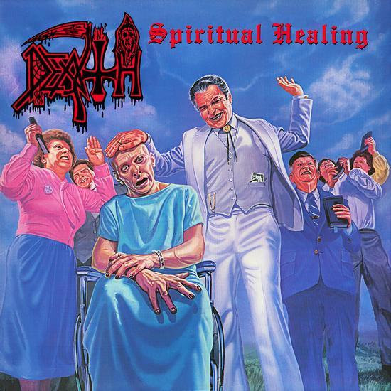 Death - Spiritual Healing (LP - Limited Pinwheel Color Vinyl) Relapse Records