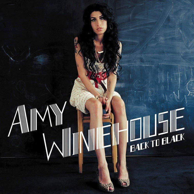 Amy Winehouse - Back To Black (LP - UK Version) Universal Republic