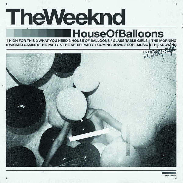 The Weeknd - House of Balloons (2xLP) Universal Republic