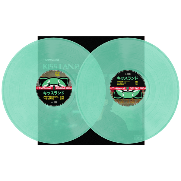 The Weeknd - Kiss Land (2xLP - Seaglass Colored Vinyl) Universal Republic