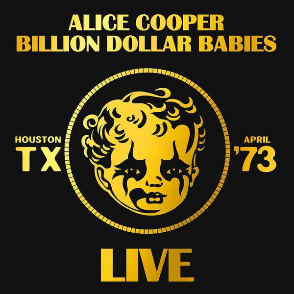 Alice Cooper - Billion Dollar Babies: Live (LP) Rhino Records