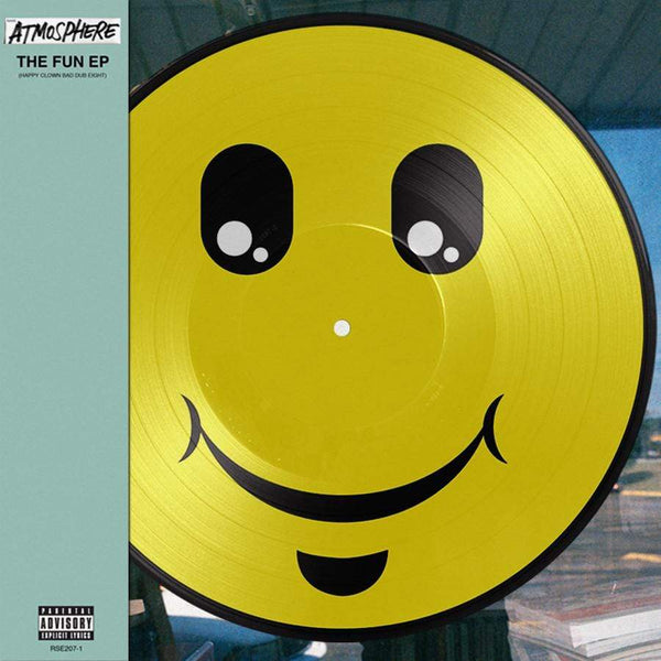 Atmosphere - The Fun: Happy Clown Bad Dub 8 (EP - Smiley-Face Picture Disc + Insert + Download Card) Rhymesayers