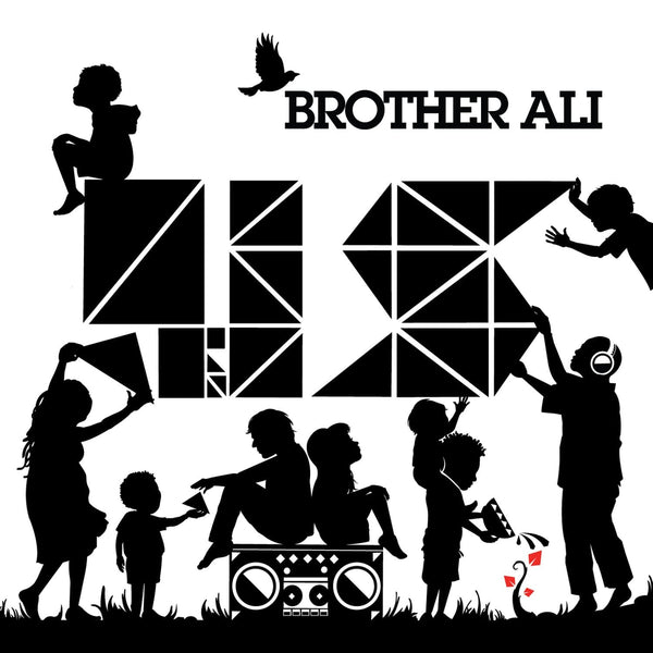 "Brother Ali - Us: 10 Year Anniversary Edition (2xLP - Red Vinyl + 7"") Rhymesayers"
