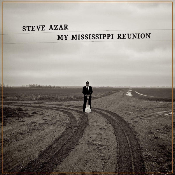 Steve Azar - My Mississippi Reunion (LP - CLOUDY CLEAR VINYL) Ride Records