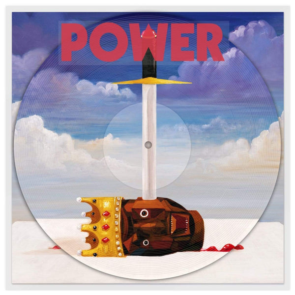 "Kanye West - POWER (12"" - Picture Disc) Roc-A-Fella Records/Def Jam"