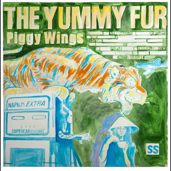 The Yummy Fur - Piggy Wings (LP + Download Card) Rock Action Records