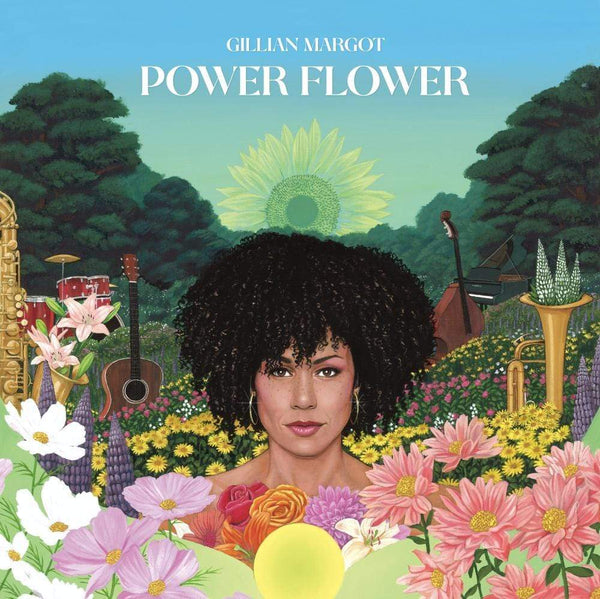 Gillian Margot - Power Flower (CD) Ropeadope