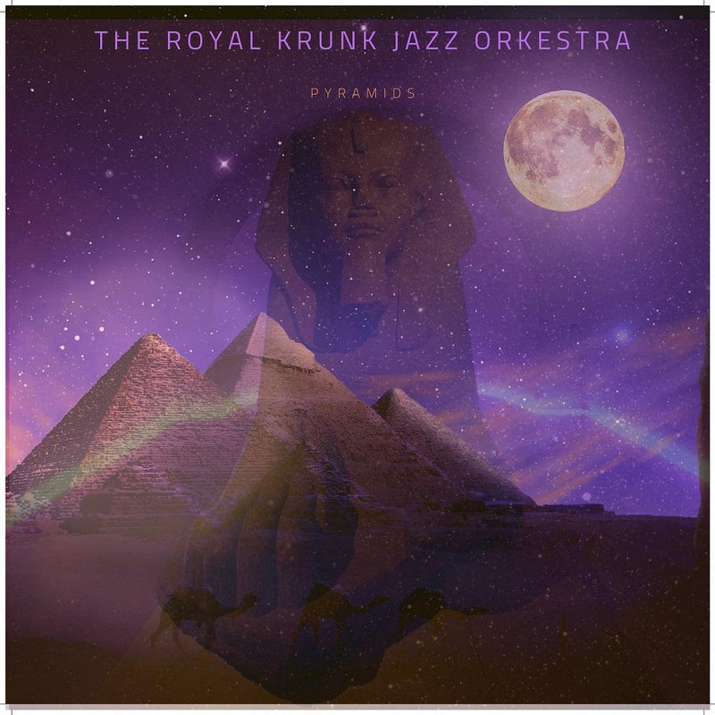 The Royal Krunk Jazz Orkestra - Pyramids (CD) Ropeadope