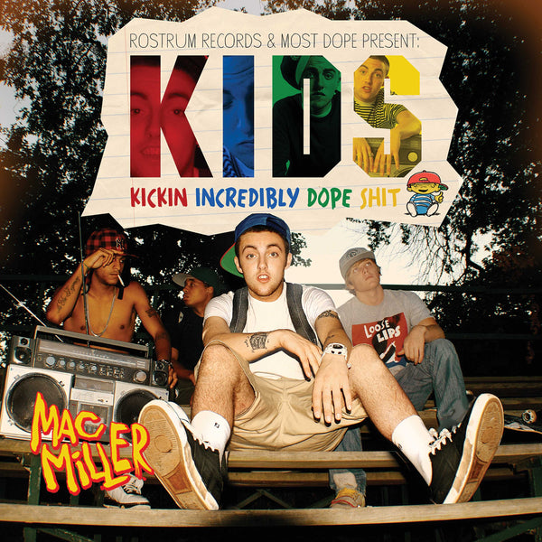 Mac Miller - K.I.D.S. (2xLP - Rainbow Splatter Vinyl - Fat Beats Exclusive) Rostrum Records