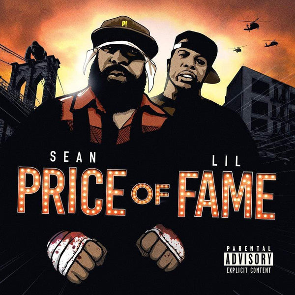 Sean Price & Lil Fame - Price of Fame (LP - Green Splatter Vinyl) Ruck Down/Duck Down