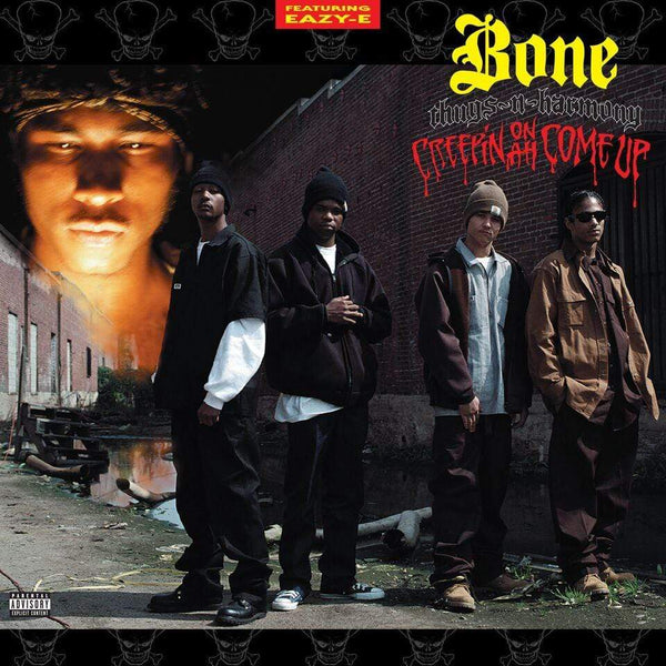 Bone Thugs-N-Harmony - Creepin' On Ah Come Up (LP - Red/Yellow Splatter Vinyl) Ruthless Records