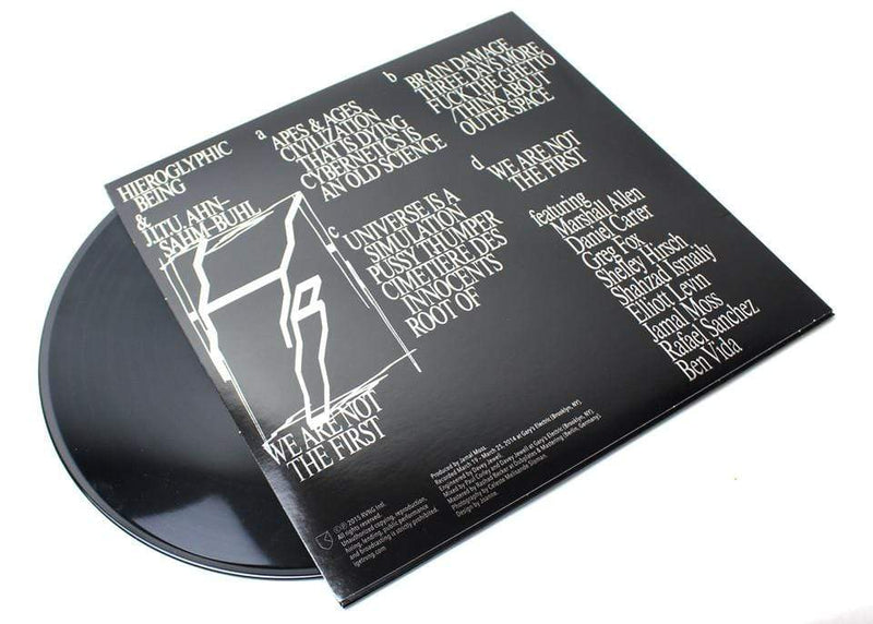 Hieroglyphic Being & J.I.T.U Ahn-Sahm-Buhl - We Are Not The First (2xLP) RVNG International