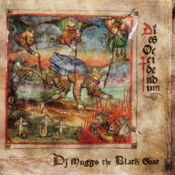 DJ Muggs / The Black Goat - Dies Occidendum (LP - Fat Beats Exclusive Clear/Red/Gold Splatter) Sacred Bones Records