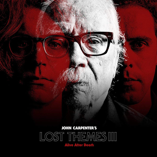 John Carpenter - Lost Themes III: Alive After Death (LP - Transparent Red Vinyl) Sacred Bones Records