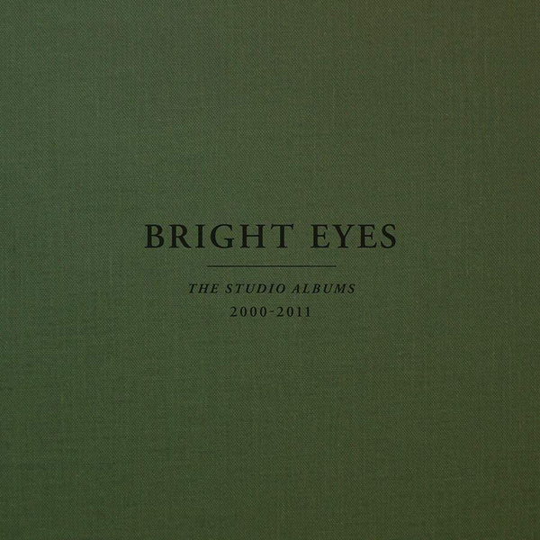 Bright Eyes - The Studio Albums: 2000-2011 (10xLP Boxset - Colored Vinyl + Download Card) Saddle Creek
