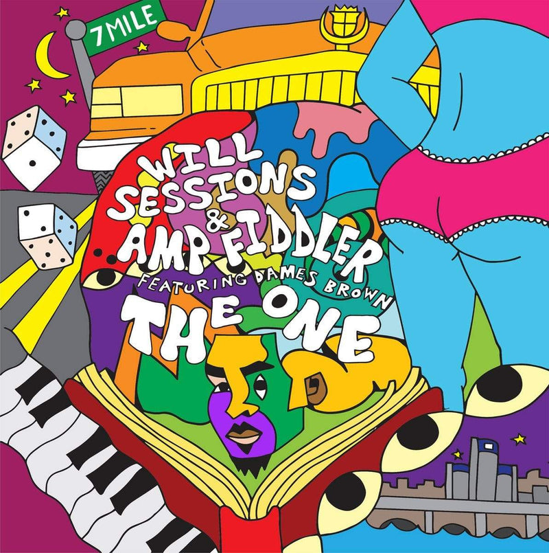 Will Sessions & Amp Fiddler (feat. Dames Brown) - The One (Digital) Sessions Sounds