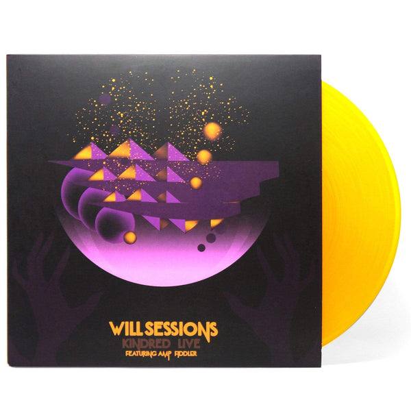Will Sessions featuring Amp Fiddler - Kindred Live (LP - Gold Vinyl) Sessions Sounds