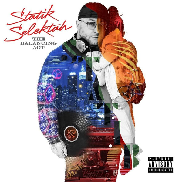 Statik Selektah - The Balancing Act (CD) Showoff Records