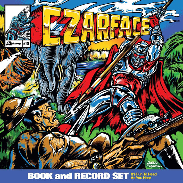 "Czarface  - Double Dose Of Danger (12"" + Comic) Silver Age"