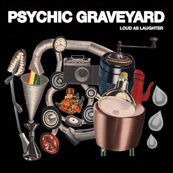 Psychic Graveyard - Loud As Laughter (LP + Double Sided Poster-Lyric Sheet) SKiN GRAFT Records