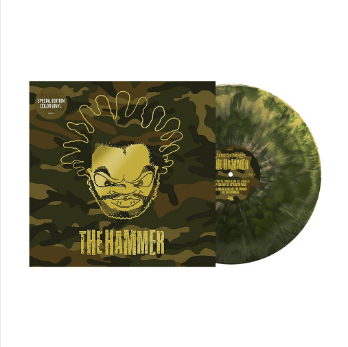 Jeru The Damaja - The Hammer (EP - Special Edition Camo Vinyl) Slice Of Spice