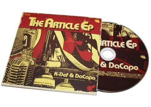 K-Def & DaCapo - The Article EP (CD) Slice Of Spice