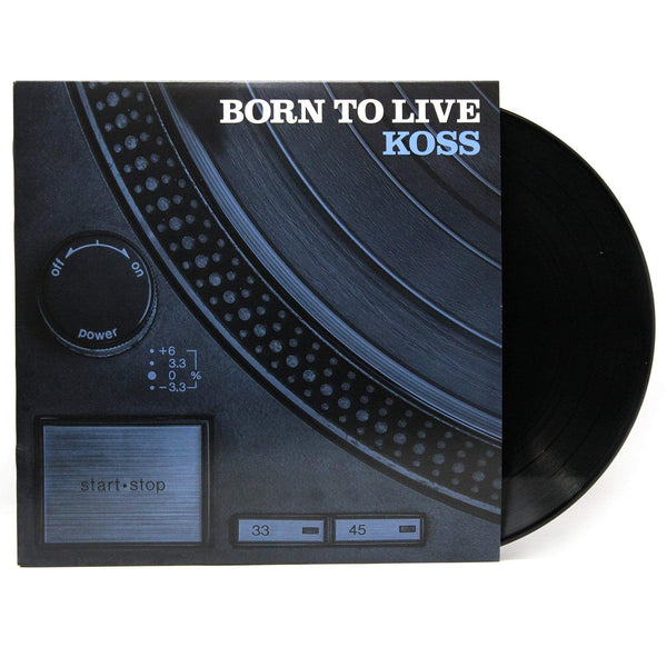 Koss (DJ Koss) - Born To Live (LP) Slice Of Spice