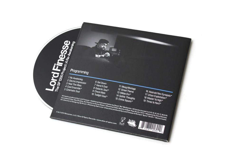 Lord Finesse - The SP1200 Project: A Re-Awakening (CD) Slice Of Spice