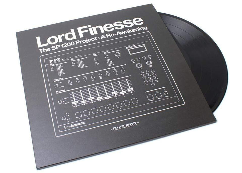 Lord Finesse - The SP1200 Project: A Re-Awakening: Deluxe Redux (3xLP - 180 Gram Vinyl) Slice Of Spice