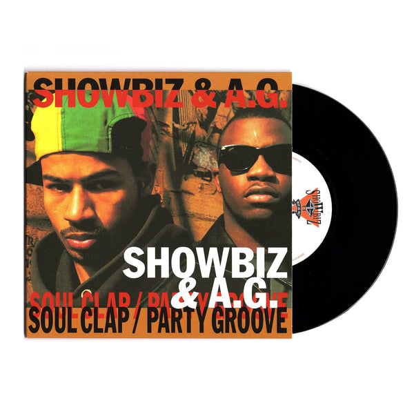 "Showbiz & A.G. - Soul Clap b/w Party Groove (7"") Slice Of Spice"
