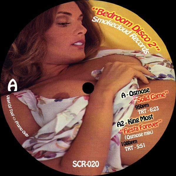 Osmose, The Silver Rider & King Most - Bedroom Disco 2 (EP) Smokecloud Records