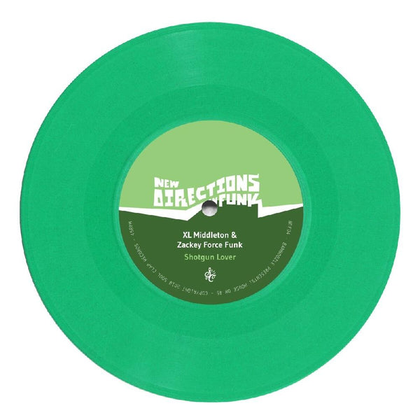 "DJ Spinna / XL Middleton & Zackey Force Funk - New Directions In Funk Vol. 4 (7"" - Green Vinyl) Soul Clap Records"