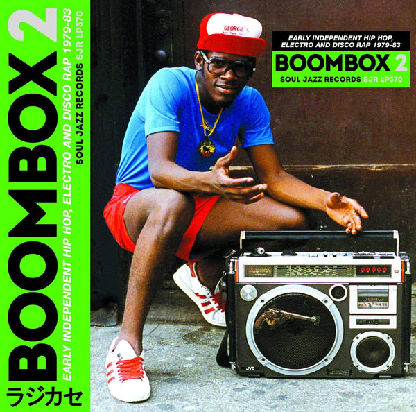 Soul Jazz Records Presents BOOMBOX 2: Early Independent Hip Hop, Electro And Disco Rap, 1979-83 (3xLP + Download Card) Soul Jazz Records