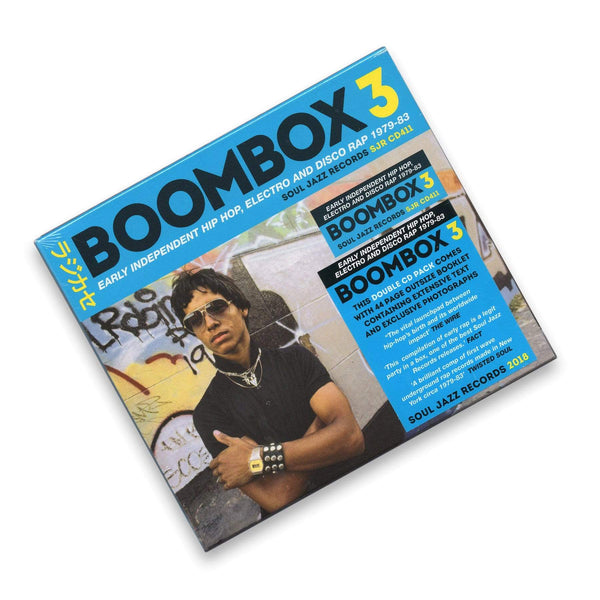 Soul Jazz Records Presents BOOMBOX 3: Early Hip-Hop, Electro, Disco Rap, 1979-82 (2xCD) Soul Jazz Records